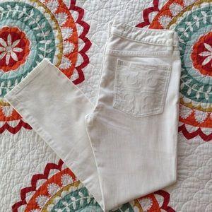 Tory Burch Super Skinny jeans sz 28